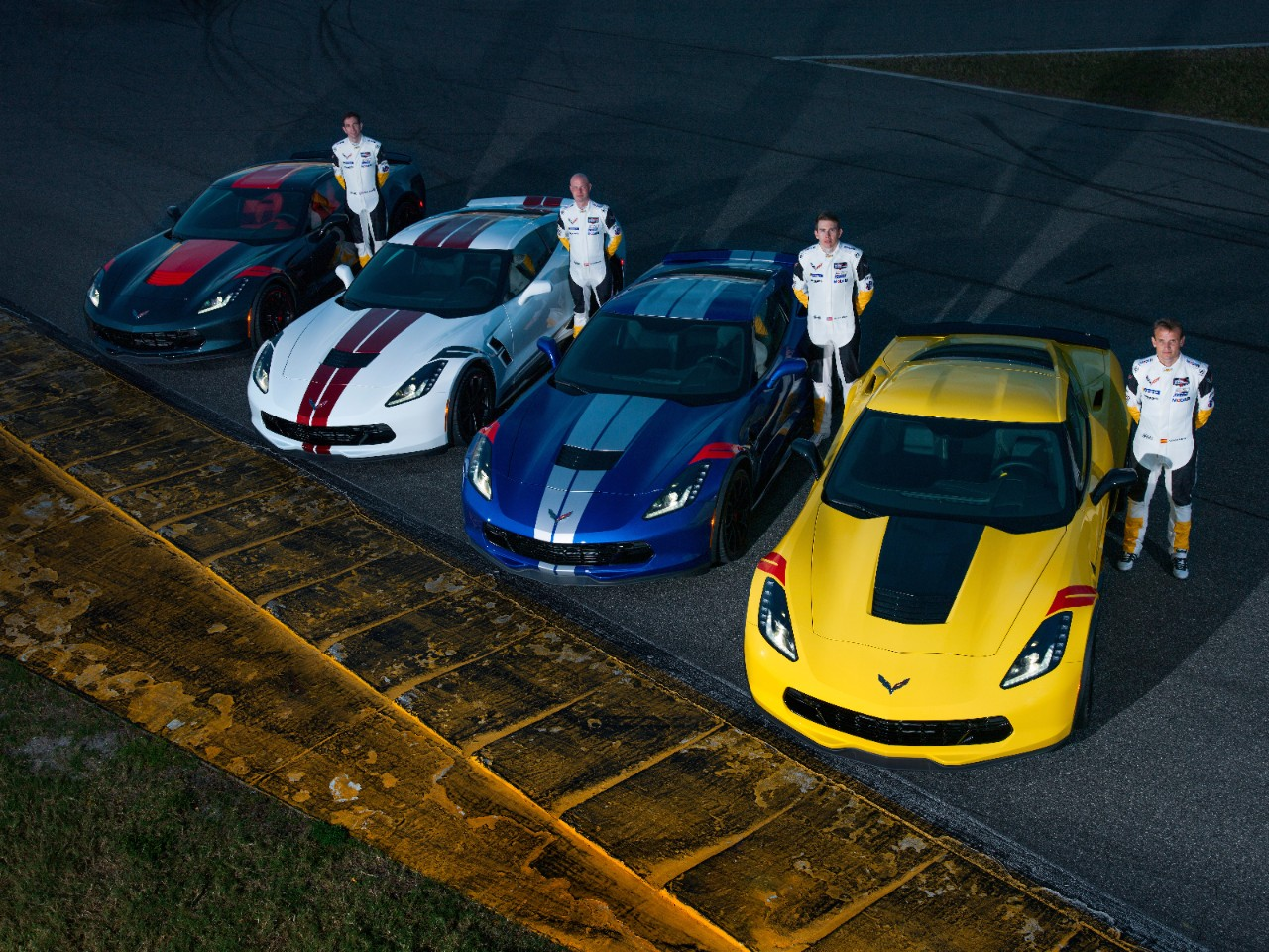 Introducing the 2019 Corvette Drivers Series — special-edition Grand Sport models designed in collaboration with the Corvette Racing team.