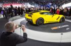Corvette In High Gear At NAIAS Charity Preview