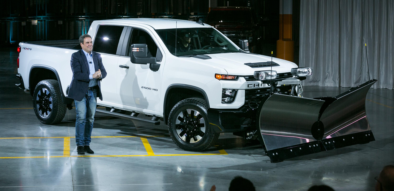 2020 Chevrolet Silverado HD Unveiled