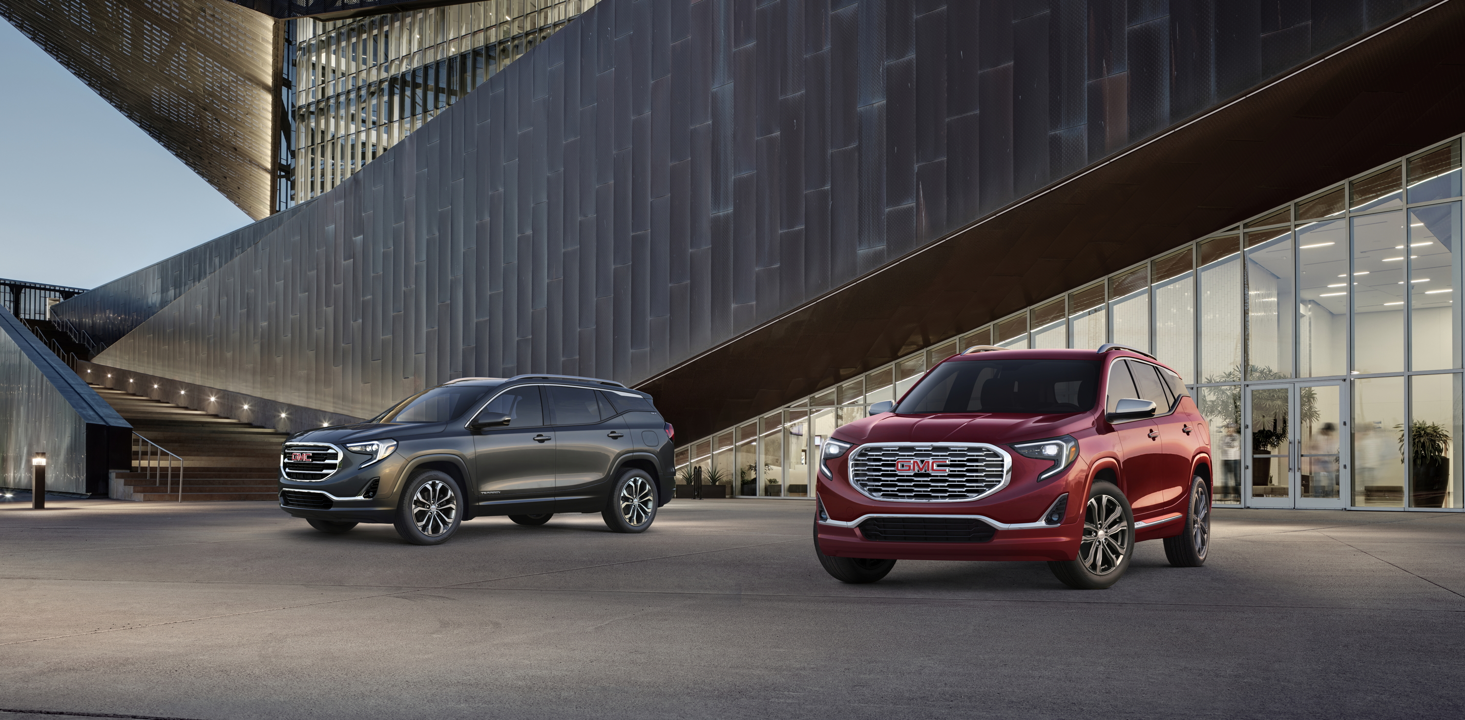 New Gmc Terrain >> 2018 All New Gmc Terrain Slt Left And Denali Right